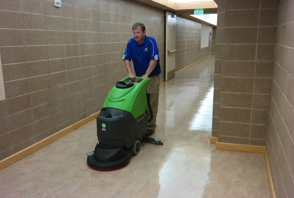 Floor buffing and other valuable cleaning services
